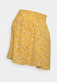MAMALICIOUS - MLCARLIN SKIRT - Minirok - chinese yellow/fragant lilac - 0