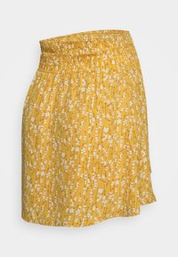 MAMALICIOUS - MLCARLIN SKIRT - Minirok - chinese yellow/fragant lilac - 1