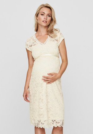 MLNEWMIVANA CAP DRESS - Sukienka koktajlowa - beige