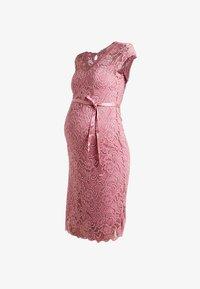 MAMALICIOUS - MLNEWMIVANA CAP DRESS - Juhlamekko - pink - 3