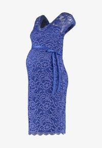MAMALICIOUS - MLNEWMIVANA CAP DRESS - Vestido de cóctel - deep ultramarine - 6