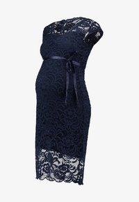 MAMALICIOUS - MLNEWMIVANA CAP DRESS - Vestito elegante - navy blazer - 5
