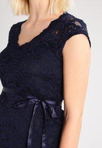 MAMALICIOUS - MLNEWMIVANA CAP DRESS - Vestito elegante - navy blazer - 3