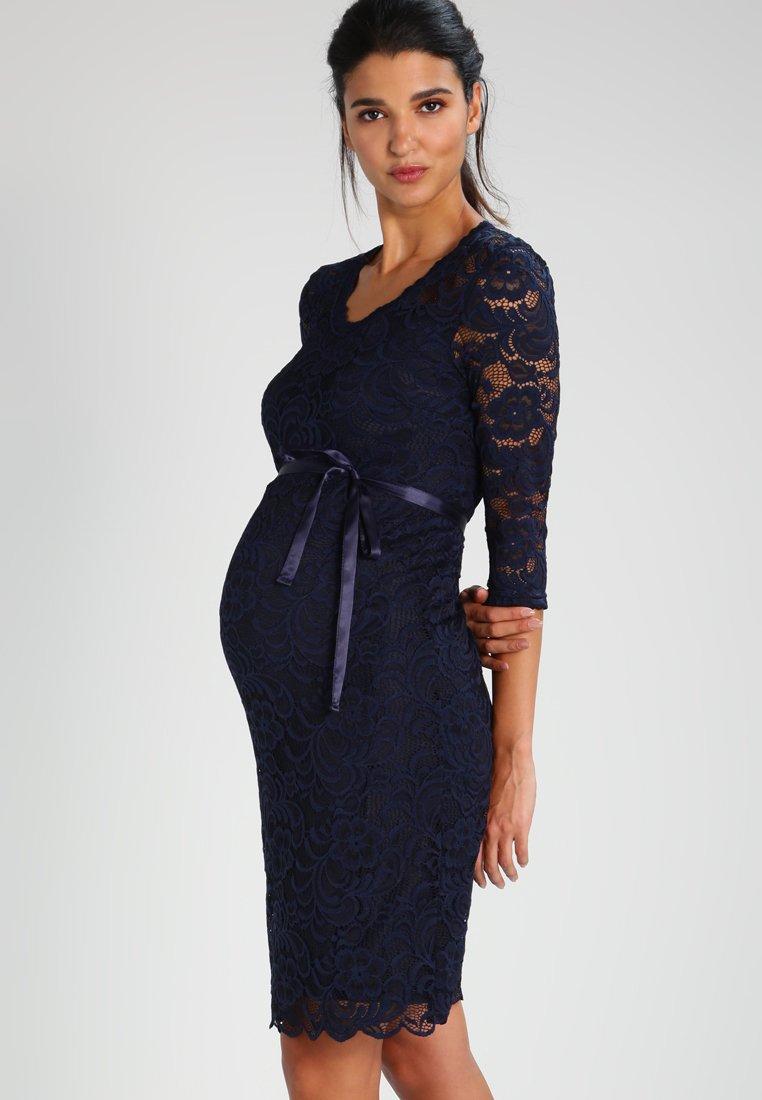 MAMALICIOUS - MLMIVANA DRESS - Cocktailklänning - navy blazer