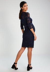 MAMALICIOUS - MLMIVANA DRESS - Cocktailklänning - navy blazer - 2