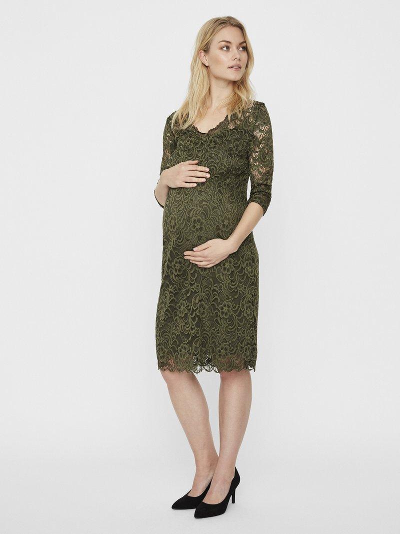 MAMALICIOUS - MLMIVANA DRESS - Robe de soirée - mottled green