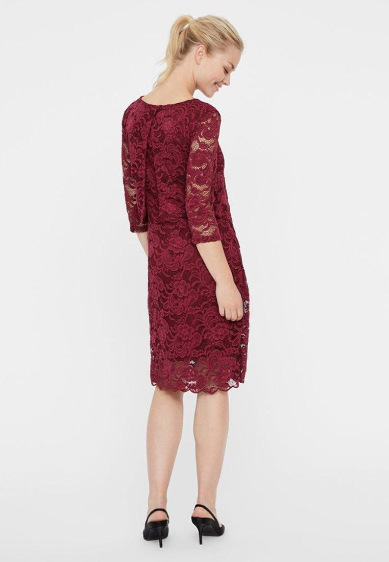MAMALICIOUS MLMIVANE JUNE - Fodralklänning - raspberry radiance