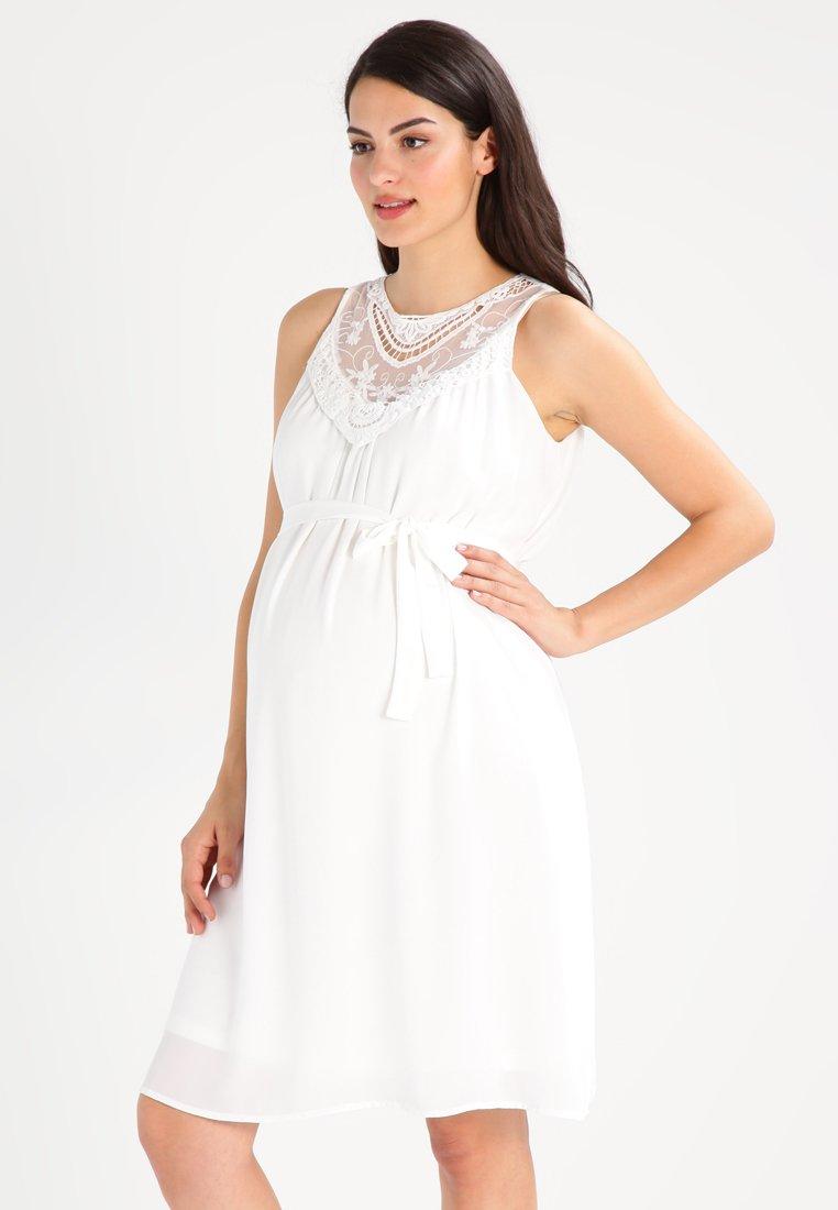 MAMALICIOUS - MLRITTA - Denní šaty - snow white