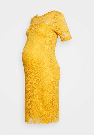 MLMIVANA BACK DRESS - Vestido de cóctel - chinese yellow