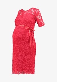 MAMALICIOUS - MLMIVANA BACK DRESS - Vestido de cóctel - chinese red - 4