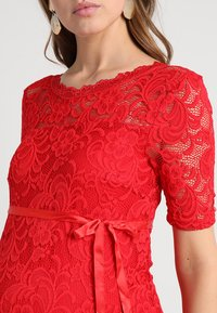 MAMALICIOUS - MLMIVANA BACK DRESS - Vestido de cóctel - chinese red - 5