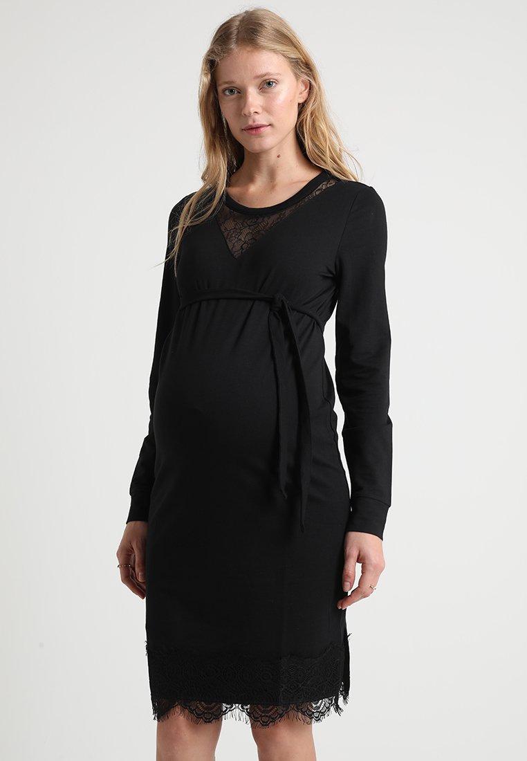 MAMALICIOUS - MLMONICA DRESS - Vestito estivo - black