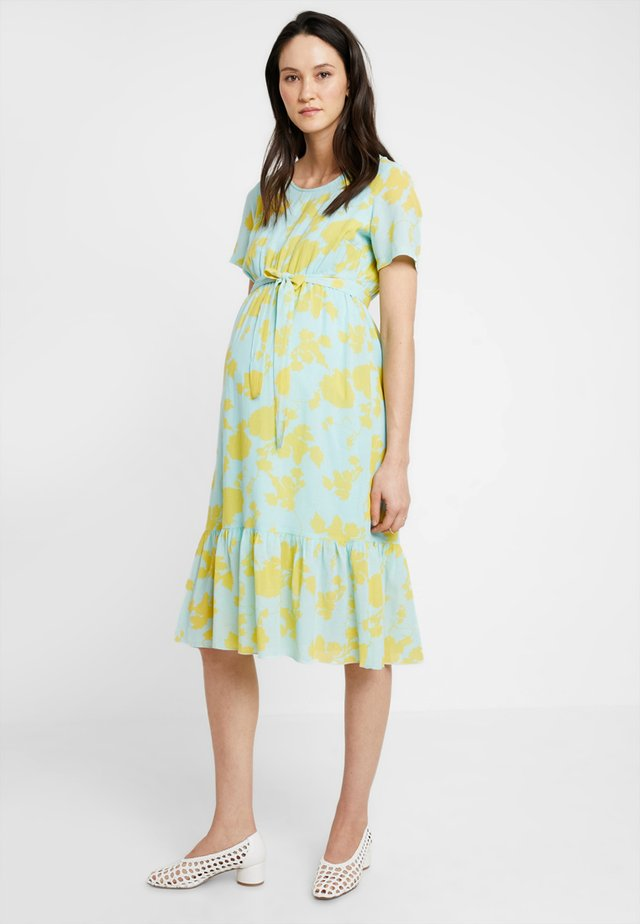 MLMAYSE DRESS - Sukienka letnia - eggshell blue