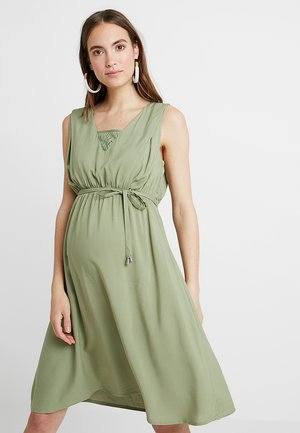 MLRONJA MARY DRESS - Denní šaty - oil green