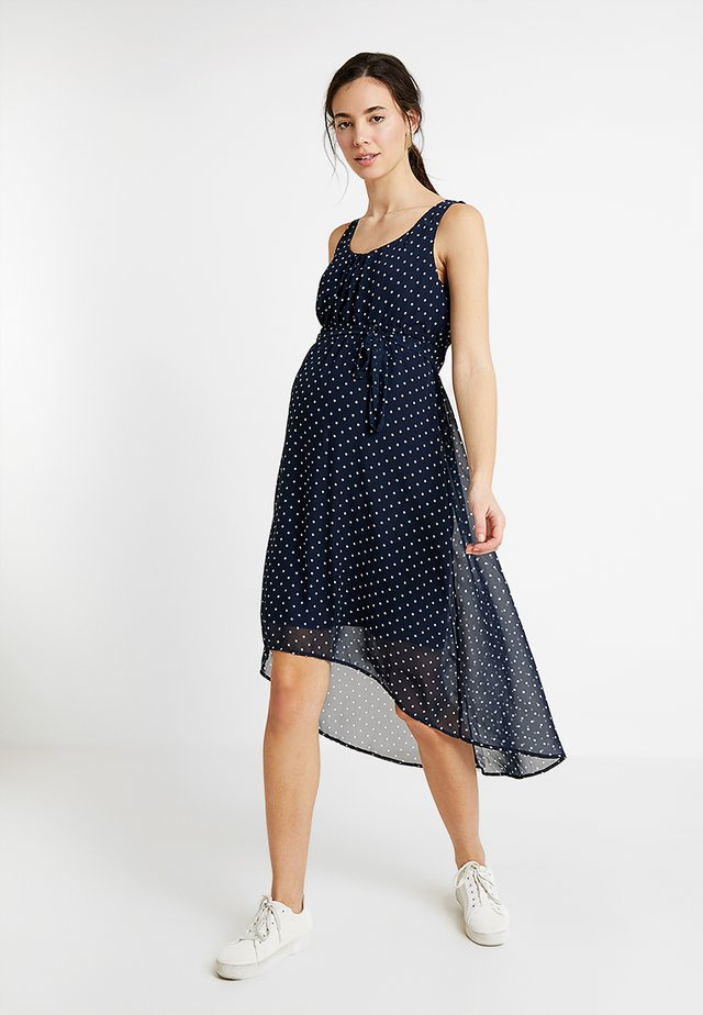 MLELINA DRESS - Maxi dress - navy blazer