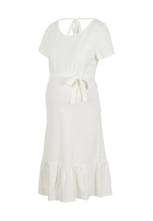 MLSASJA  - Sukienka z dżerseju - snow white