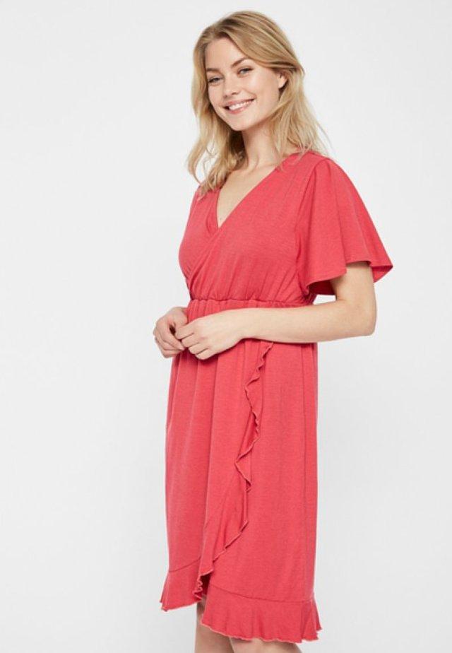 Vapaa-ajan mekko - claret red