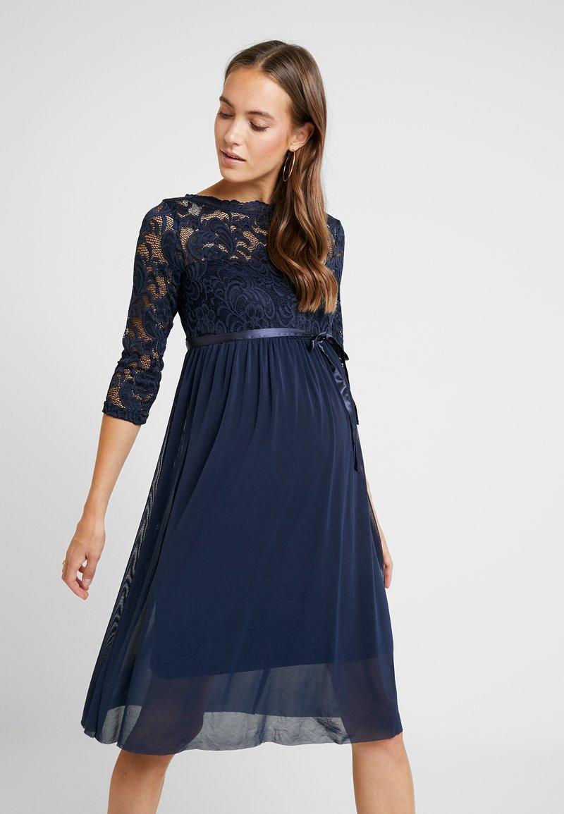 MAMALICIOUS - MLMIVANA DRESS - Vestido de cóctel - navy blazer