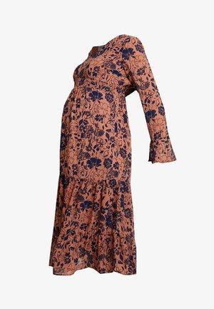 MLCALM DRESS - Sukienka letnia - navy blazer with ginger