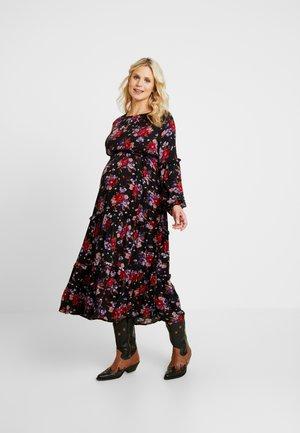 MLLULUE ANCLE DRESS - Maxi šaty - black
