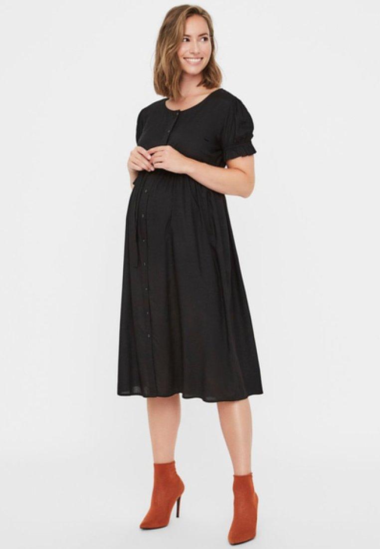 MAMALICIOUS - Jersey dress - black