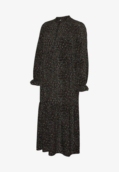 szyk MAMALICIOUS Sukienka letnia - black Odzież Damska Sukienki KCGX-IJ9