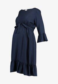 MAMALICIOUS - MLCAM 3/4 DRESS - Denní šaty - navy blazer - 4