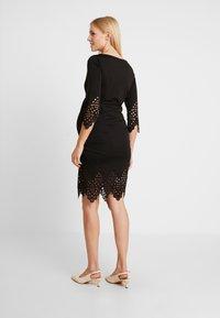MAMALICIOUS - MLALAIA 3/4 DRESS - Žerzejové šaty - black - 2