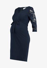 MAMALICIOUS - MLTINE 3/4 - Vestido informal - navy blazer - 4