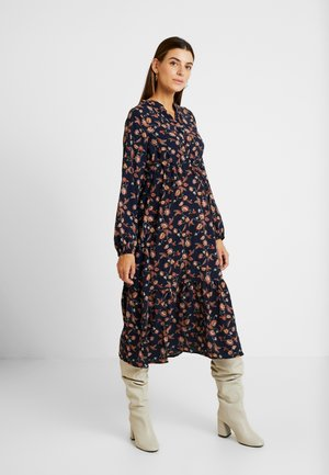 MLXENI WOVEN MIDI DRESS - Shirt dress - navy blazer