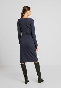 MAMALICIOUS - MLSELENA DRESS  - Vestido ligero - navy blazer/melange - 3