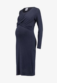 MAMALICIOUS - MLSELENA DRESS  - Vestido ligero - navy blazer/melange - 5