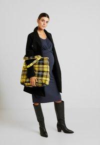 MAMALICIOUS - MLSELENA DRESS  - Vestido ligero - navy blazer/melange - 2