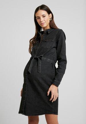 MLDENVER DRESS - Denimové šaty - black denim