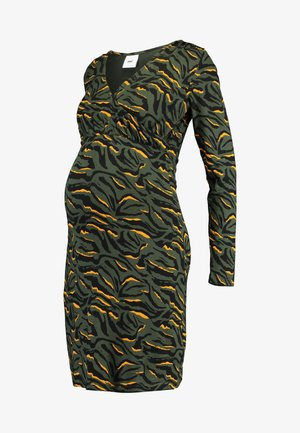 MLANIME TESS DRESS - Etuikjoler - climbing ivy/black