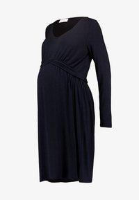 MAMALICIOUS - MLADELIA DRESS - Vestido ligero - navy - 5