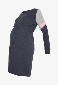 MAMALICIOUS - MLMENA DRESS - Sukienka letnia - navy blazer - 4