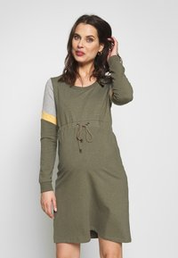 MAMALICIOUS - MLMENA DRESS - Vestido informal - dusty olive - 0