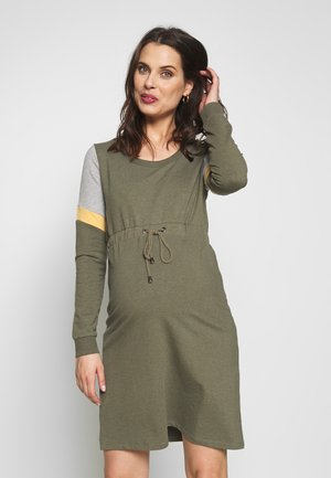 MLMENA DRESS - Sukienka letnia - dusty olive