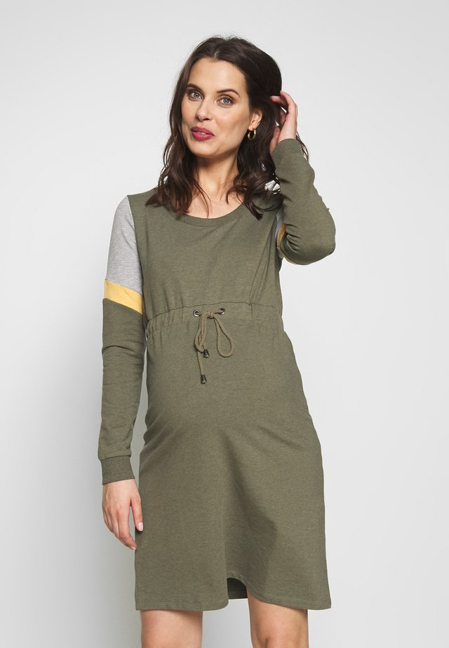 MLMENA DRESS - Kjole - dusty olive