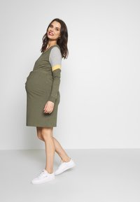 MAMALICIOUS - MLMENA DRESS - Vestido informal - dusty olive - 1