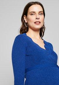 MAMALICIOUS - MLNEWEVA TESS DRESS - Vestido de tubo - mazarine blue - 3