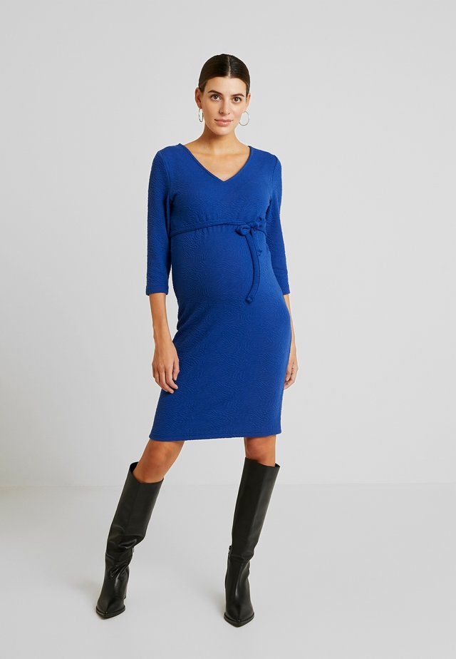 MLLARISSA DRESS - Jerseyjurk - mazarine blue