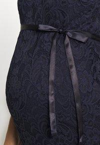 MAMALICIOUS - MLMIVANA DRESS - Vestido de cóctel - navy blazer - 5