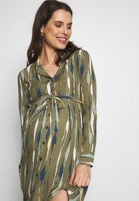 MAMALICIOUS - MLDANA WOVEN DRESS - Sukienka koszulowa - dusty olive - 3