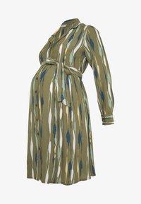 MAMALICIOUS - MLDANA WOVEN DRESS - Sukienka koszulowa - dusty olive - 4