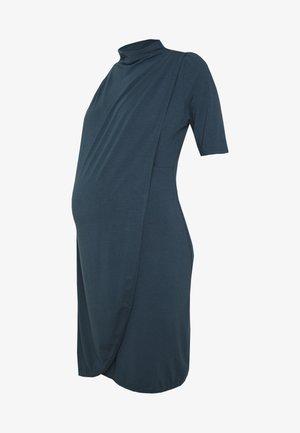 MLEDNA IRIS SHORT DRESS - Jerseykjole - orion blue