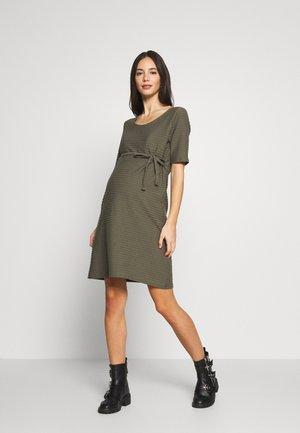 MLLIL  - Žerzejové šaty - dusty olive