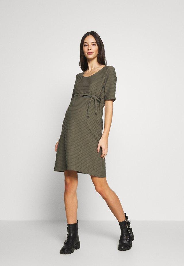 MLLIL  - Jersey dress - dusty olive