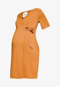 MAMALICIOUS - MLELENA TESS DRESS - Vestido ligero - nugget - 4